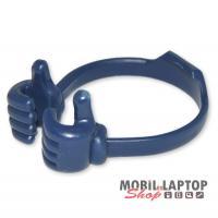 Asztali táblagép és mobiltelefon tartó kék