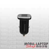 Autós töltő univerzális 2 USB adapter 2X2.4A Borofone BZ12